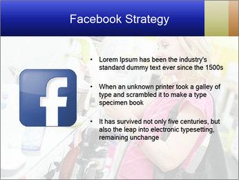 Woman choosing kitchen mixer PowerPoint Template - Slide 6