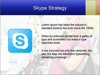 Woman choosing kitchen mixer PowerPoint Template - Slide 8