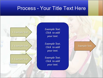 Woman choosing kitchen mixer PowerPoint Templates - Slide 85