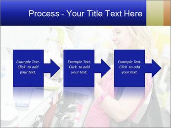 Woman choosing kitchen mixer PowerPoint Template - Slide 88