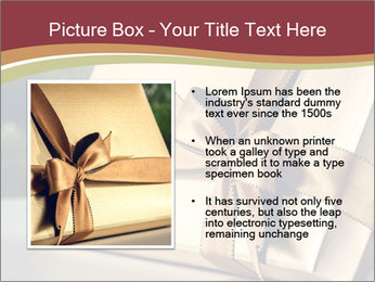 Christmas gift PowerPoint Templates - Slide 13