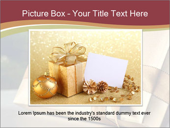 Christmas gift PowerPoint Template - Slide 16