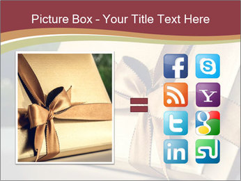 Christmas gift PowerPoint Templates - Slide 21