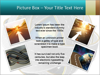 3d Globe and roads PowerPoint Template - Slide 24