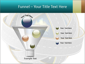 3d Globe and roads PowerPoint Template - Slide 63