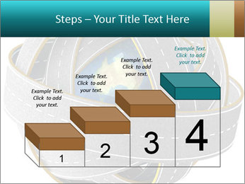 3d Globe and roads PowerPoint Template - Slide 64