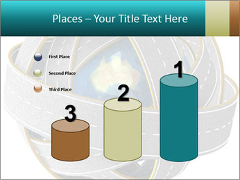 3d Globe and roads PowerPoint Template - Slide 65