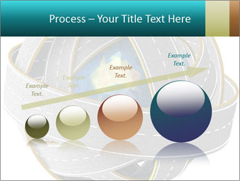 3d Globe and roads PowerPoint Template - Slide 87
