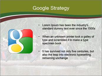 Ceremony of Asmat people PowerPoint Template - Slide 10