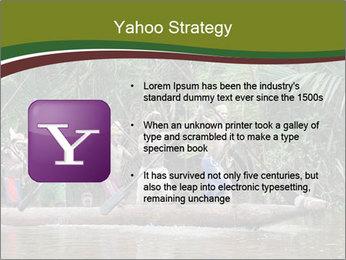 Ceremony of Asmat people PowerPoint Template - Slide 11