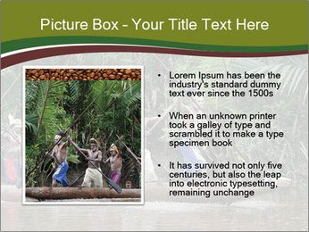 Ceremony of Asmat people PowerPoint Template - Slide 13