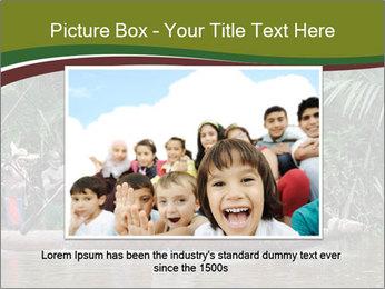 Ceremony of Asmat people PowerPoint Template - Slide 16