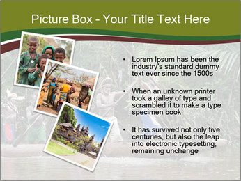 Ceremony of Asmat people PowerPoint Template - Slide 17