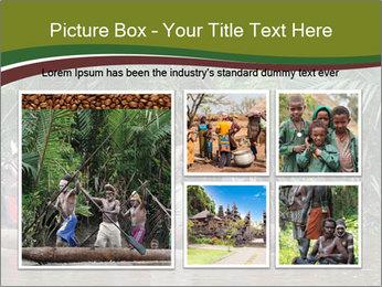 Ceremony of Asmat people PowerPoint Template - Slide 19