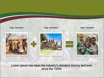 Ceremony of Asmat people PowerPoint Template - Slide 22