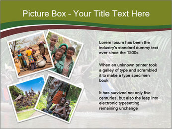Ceremony of Asmat people PowerPoint Template - Slide 23