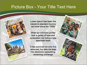 Ceremony of Asmat people PowerPoint Template - Slide 24