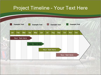 Ceremony of Asmat people PowerPoint Template - Slide 25