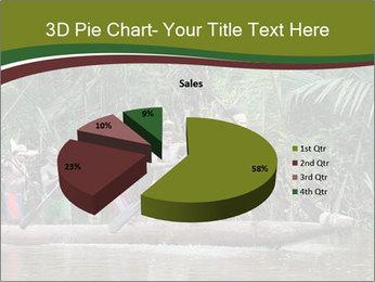Ceremony of Asmat people PowerPoint Template - Slide 35
