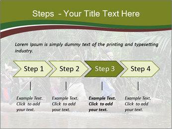 Ceremony of Asmat people PowerPoint Template - Slide 4