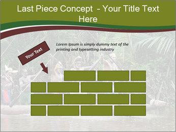 Ceremony of Asmat people PowerPoint Template - Slide 46