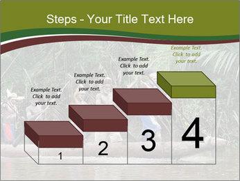 Ceremony of Asmat people PowerPoint Template - Slide 64