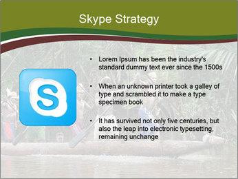 Ceremony of Asmat people PowerPoint Template - Slide 8