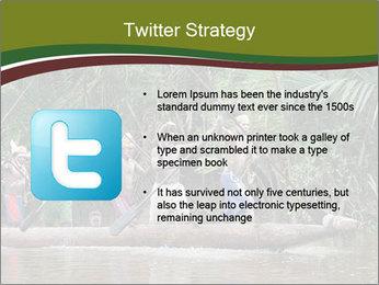 Ceremony of Asmat people PowerPoint Template - Slide 9