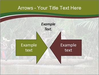 Ceremony of Asmat people PowerPoint Template - Slide 90