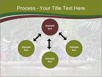 Ceremony of Asmat people PowerPoint Template - Slide 91