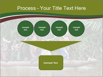 Ceremony of Asmat people PowerPoint Template - Slide 93