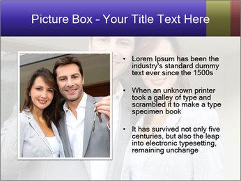 Couple holding door keys PowerPoint Templates - Slide 13