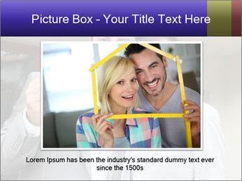 Couple holding door keys PowerPoint Templates - Slide 15