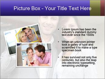 Couple holding door keys PowerPoint Templates - Slide 20