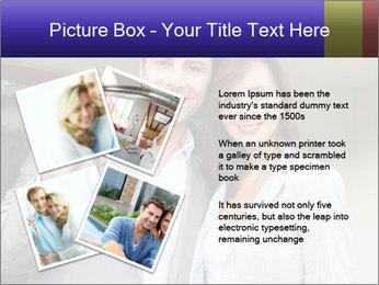 Couple holding door keys PowerPoint Templates - Slide 23