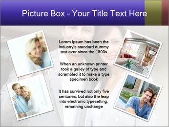 Couple holding door keys PowerPoint Templates - Slide 24
