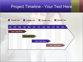 Couple holding door keys PowerPoint Templates - Slide 25