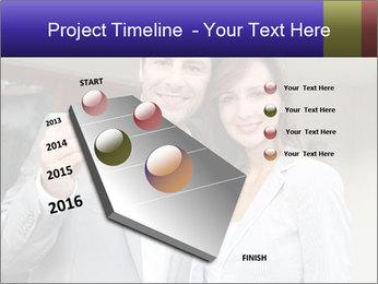 Couple holding door keys PowerPoint Templates - Slide 26