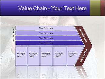 Couple holding door keys PowerPoint Templates - Slide 27