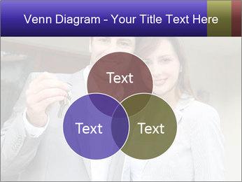 Couple holding door keys PowerPoint Templates - Slide 33