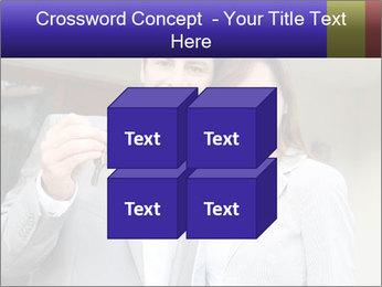 Couple holding door keys PowerPoint Templates - Slide 39