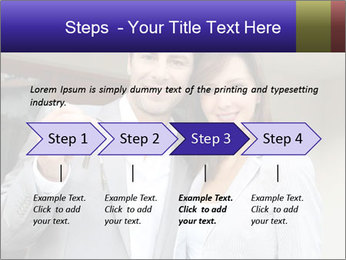 Couple holding door keys PowerPoint Templates - Slide 4