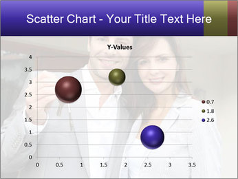 Couple holding door keys PowerPoint Templates - Slide 49