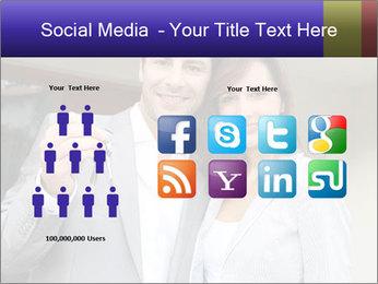 Couple holding door keys PowerPoint Templates - Slide 5