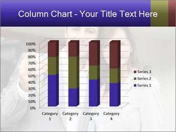 Couple holding door keys PowerPoint Templates - Slide 50