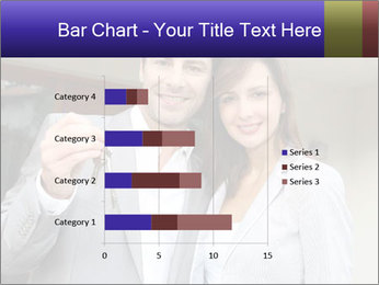 Couple holding door keys PowerPoint Templates - Slide 52