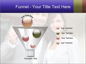 Couple holding door keys PowerPoint Templates - Slide 63