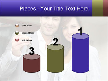 Couple holding door keys PowerPoint Templates - Slide 65