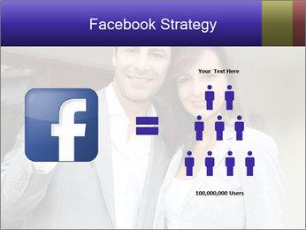 Couple holding door keys PowerPoint Templates - Slide 7