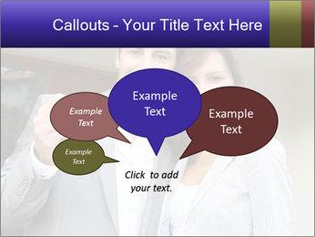 Couple holding door keys PowerPoint Templates - Slide 73
